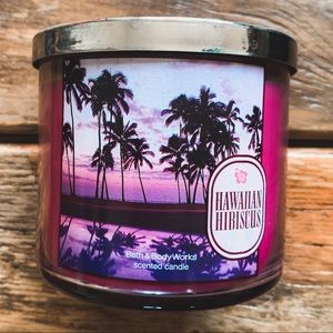 Bath & Body Works Hawaiian Hibiscus 3-Wick Candle